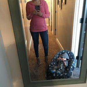 Indigo blue maternity jeans size XS